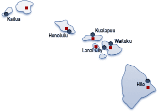 Hawaii Image Map